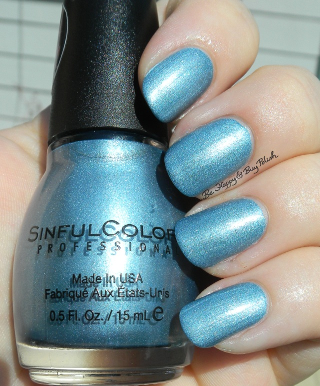 Sinful Colors Blue Sensation sun photo | Be Happy And Buy Polish