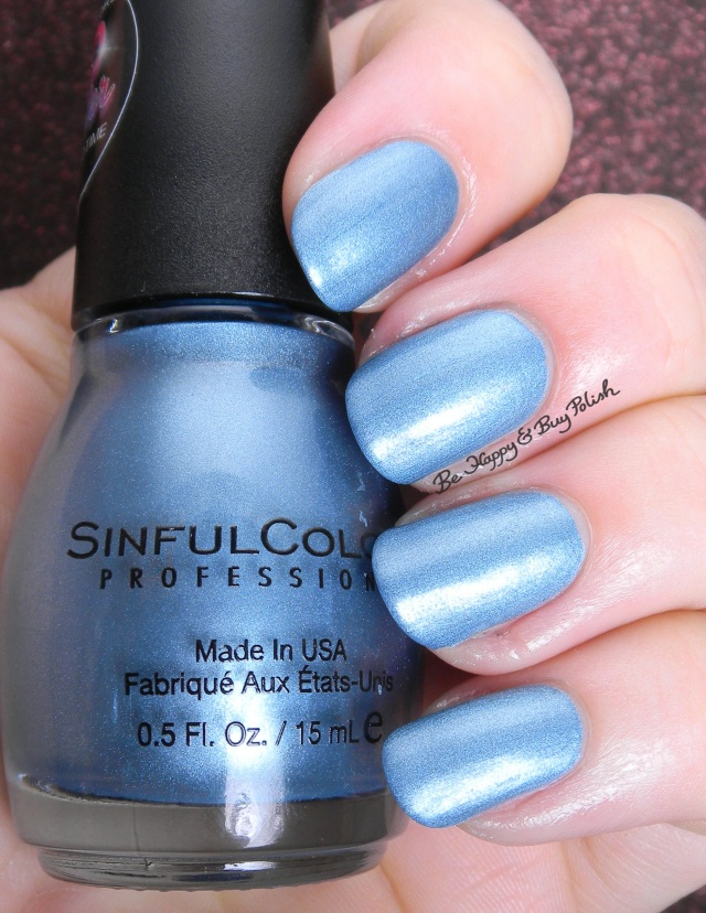 Sinful Colors Blue Sensation | Be Happy And Buy Polish
