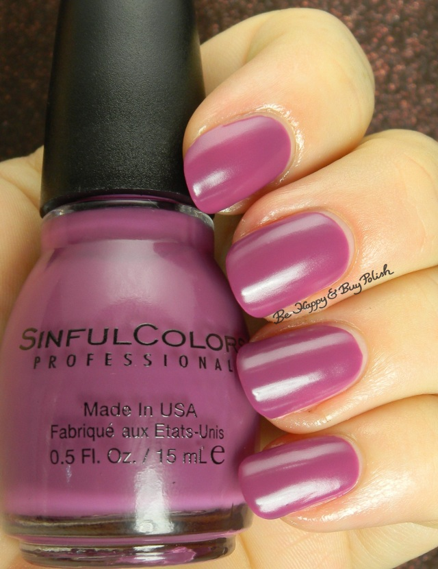 Sinful Colors Hazed | Be Happy And Buy Polish