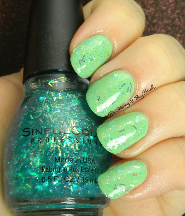 Sinful Colors Late Night Haute over Chalk It Up | Be Happy And Buy Polish
