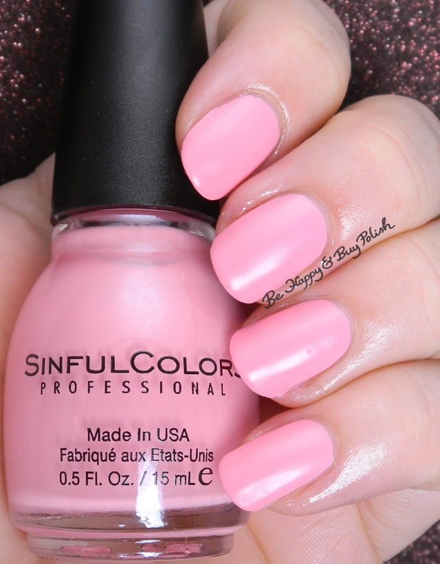 Sinful Colors Pink Break | Be Happy And Buy Polish