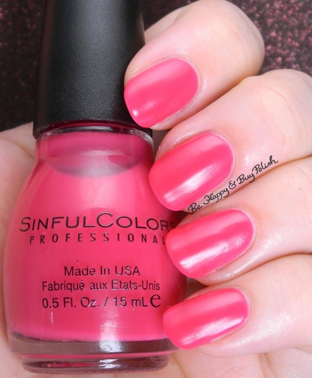 Sinful Colors RADient | Be Happy And Buy Polish