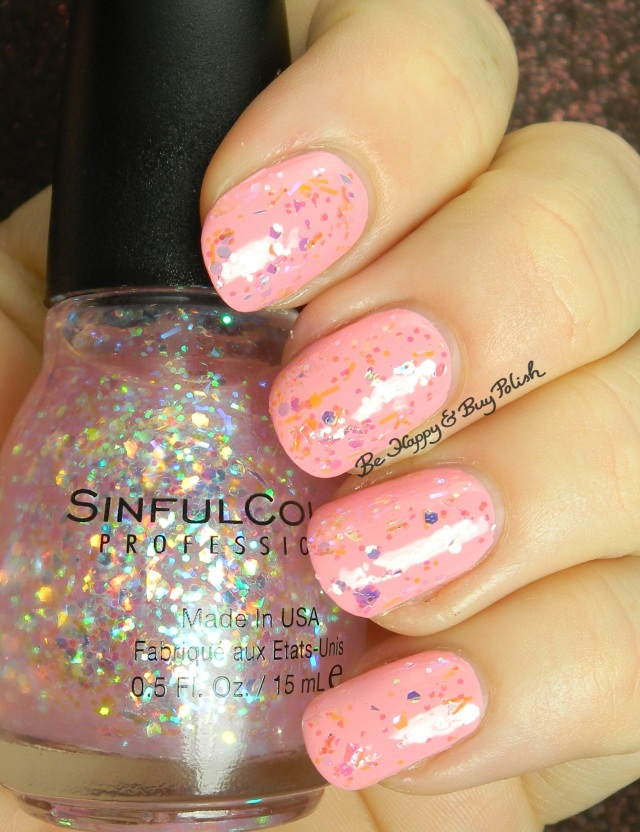 Sinful Colors Sinful Sunrise over Pink Break | Be Happy And Buy Polish