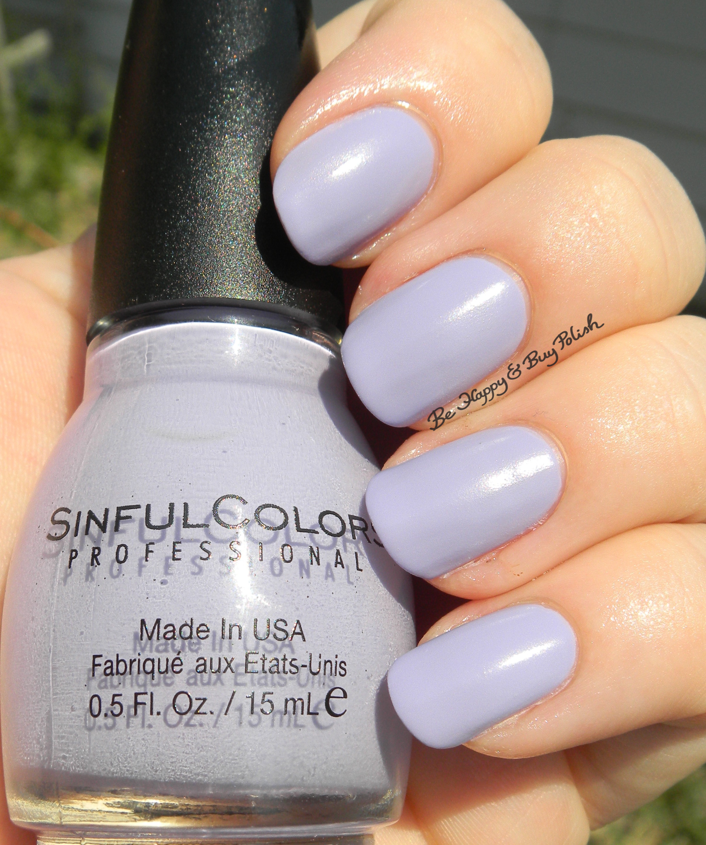 Sinful Colors A Class Act Nail Polishes (partial
