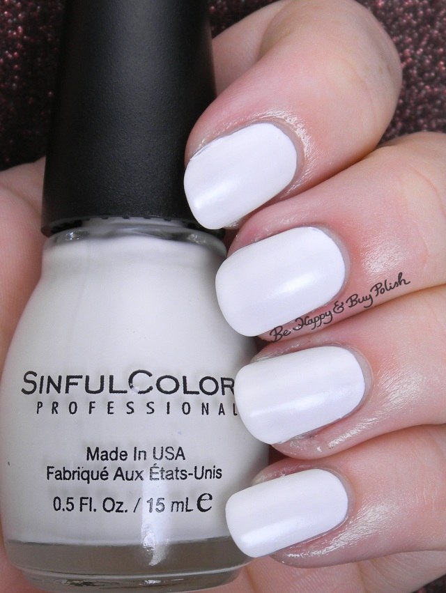 Sinful Colors Whiteboard | Be Happy And Buy Polish