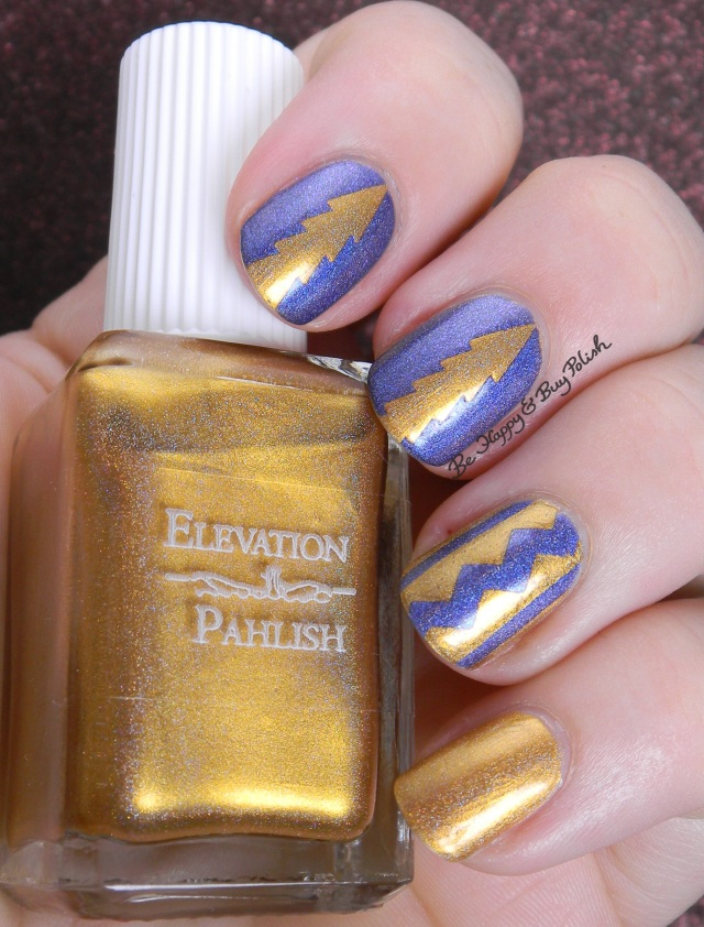 Elevation Polish Zhenjin, Fair Maiden Polish Aloha Nights southwestern nail art | Be Happy And Buy Polish