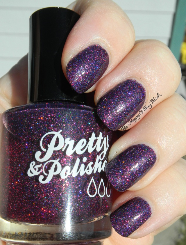 Pretty & Polished Purple Nurpl | Be Happy And Buy Polish