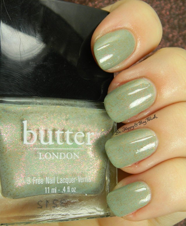 butter LONDON Two Fingered Salute | Be Happy And Buy Polish