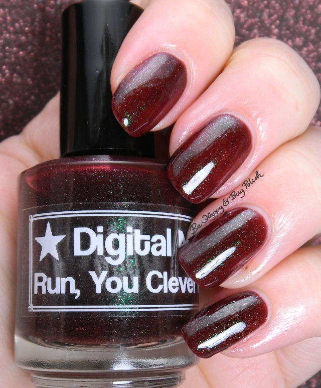 Digital Nails Run, You Clever Boy | Be Happy And Buy Polish