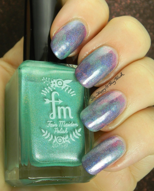 Fair Maiden Polish Hella Holo Customs seriotype nail art | Be Happy And Buy Polish