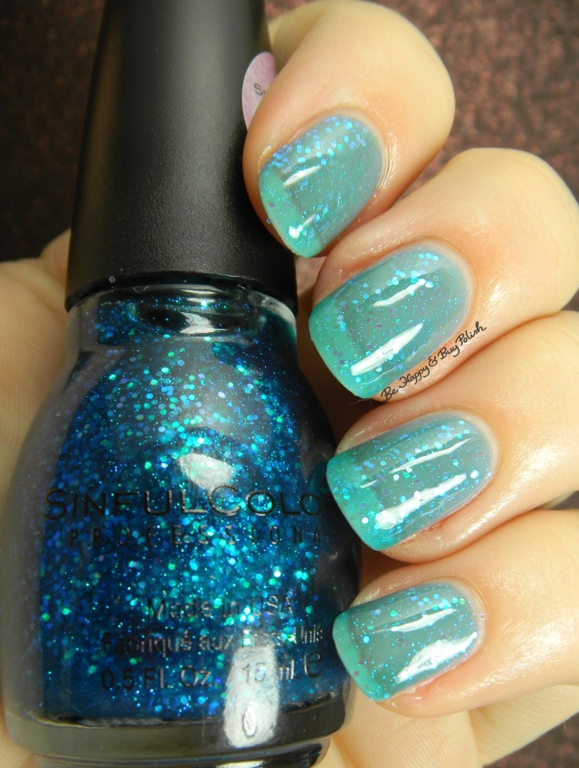 Sinful Colors Teal Midnight | Be Happy And Buy Polish