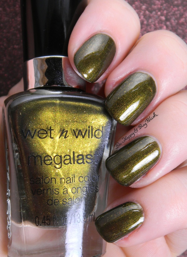 Wet N Wild I Moss Have It | Be Happy And Buy Polish