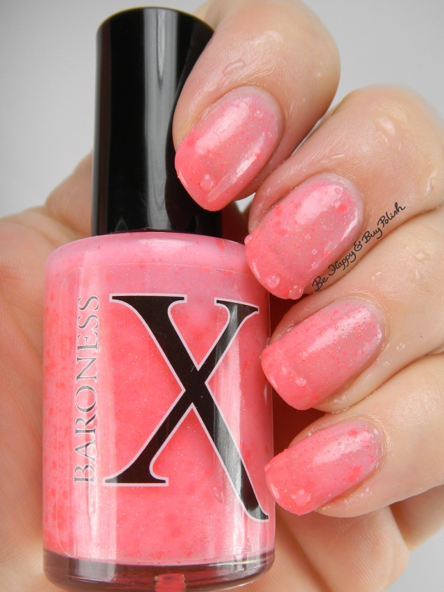 BaronessX Blushing Bellini cold state | Be Happy And Buy Polish