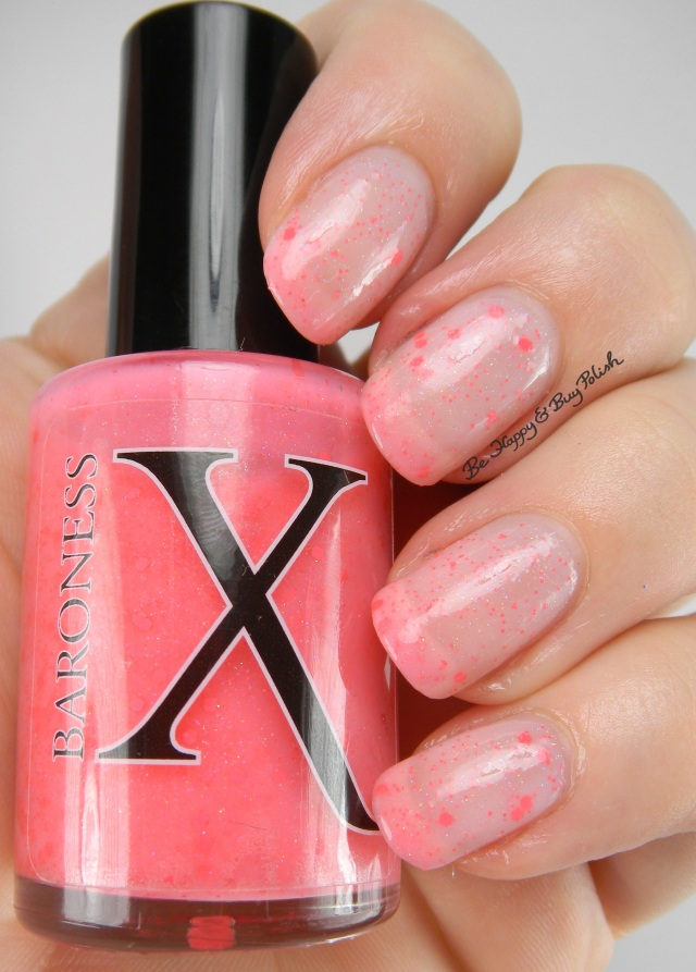 BaronessX Blushing Bellini natural state | Be Happy And Buy Polish