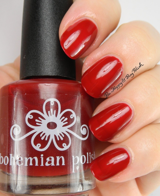 Bohemian Polish Cranberry | Be Happy And Buy Polish