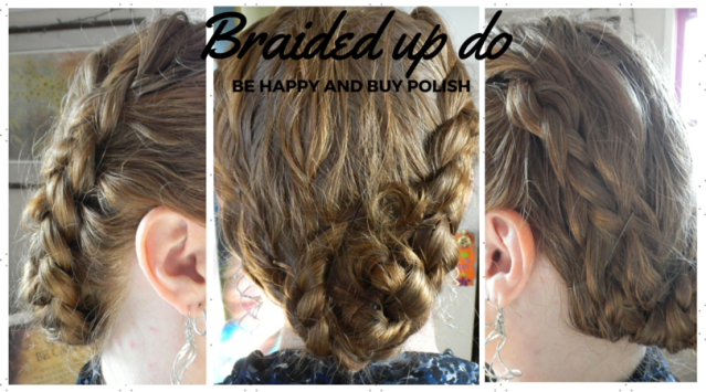 braided updo | Be Happy And Buy Polish
