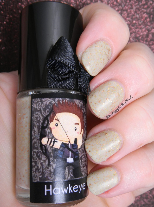 Esmaltes da Kelly Hawkeye with matte top coat | Be Happy And Buy Polish