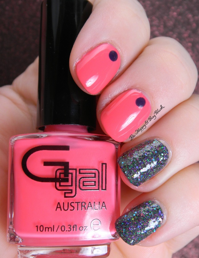 Esmaltes de Kelly Hulk, Glitter Gal Cosmetics Pink Sunnies | Be Happy And Buy Polish