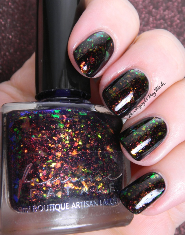 Femme Fatale Cosmetics Pyramids on Mars | Be Happy And Buy Polish