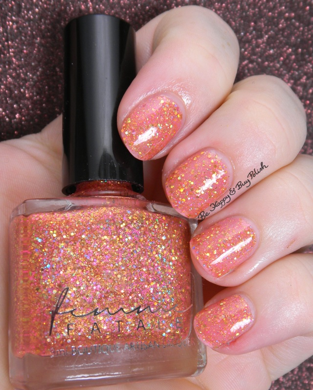 Femme Fatale Cosmetics Sunset Dreams of Ice Cream | Be Happy And Buy Polish