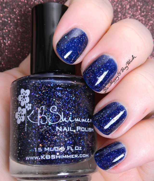 KBShimmer Carpe Denim | Be Happy And Buy Polish