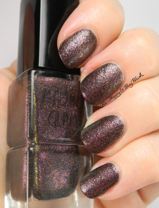 Madam Glam I Love Winter no top coat | Be Happy And Buy Polish