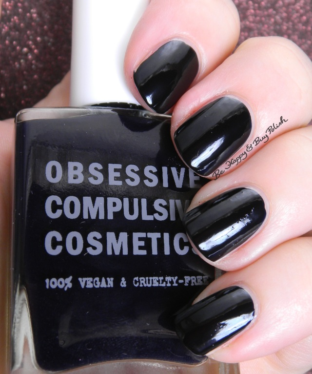 Obsessive Compulsive Cosmetics Inky nail polish | Be Happy And Buy Polish