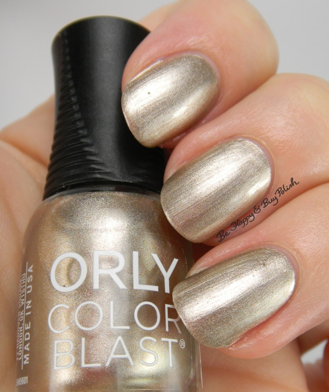 Cinderella Orly Color Blast Oh, That Clock! | Be Happy And Buy Polish