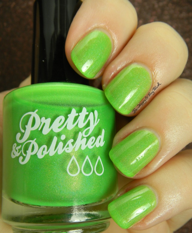 Pretty & Polished Appletini | Be Happy And Buy Polish