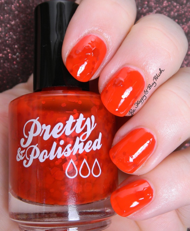Pretty & Polished Blood Clot | Be Happy And Buy Polish