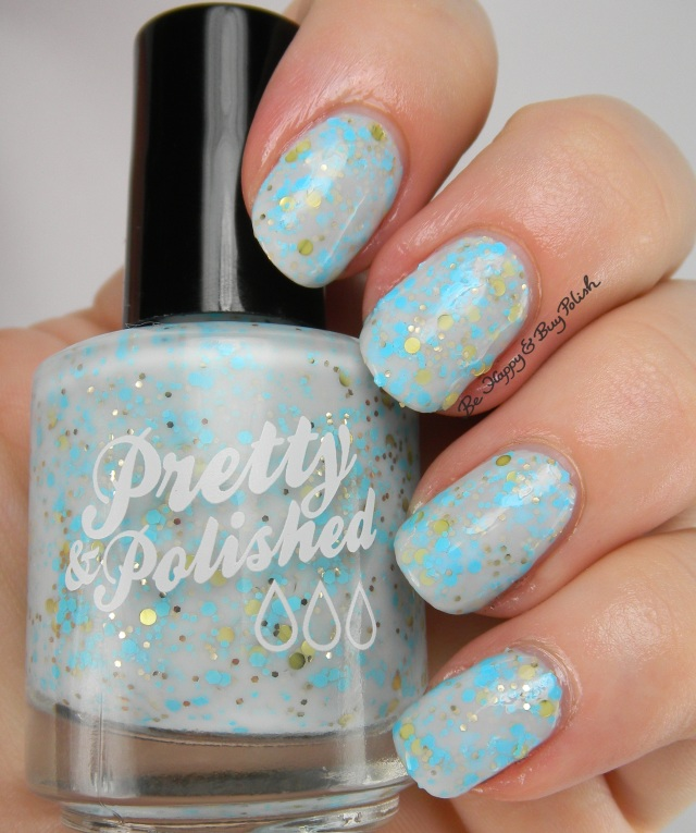 Pretty & Polished Bubbles in My Champagne | Be Happy And Buy Polish