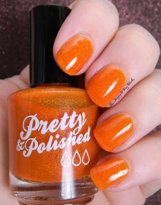Pretty & Polished Tequila Sunrise | Be Happy And Buy Polish
