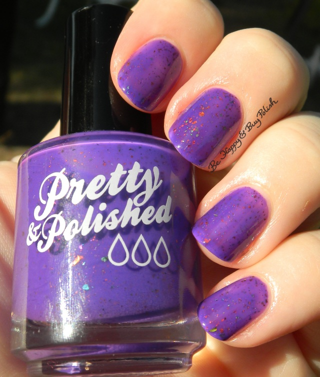 Pretty & Polished The Grape Flake | Be Happy And Buy Polish