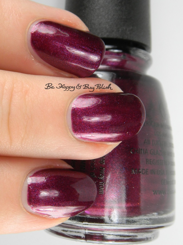 China Glaze Cowgirl Up bottle shot background | Be Happy And Buy Polish
