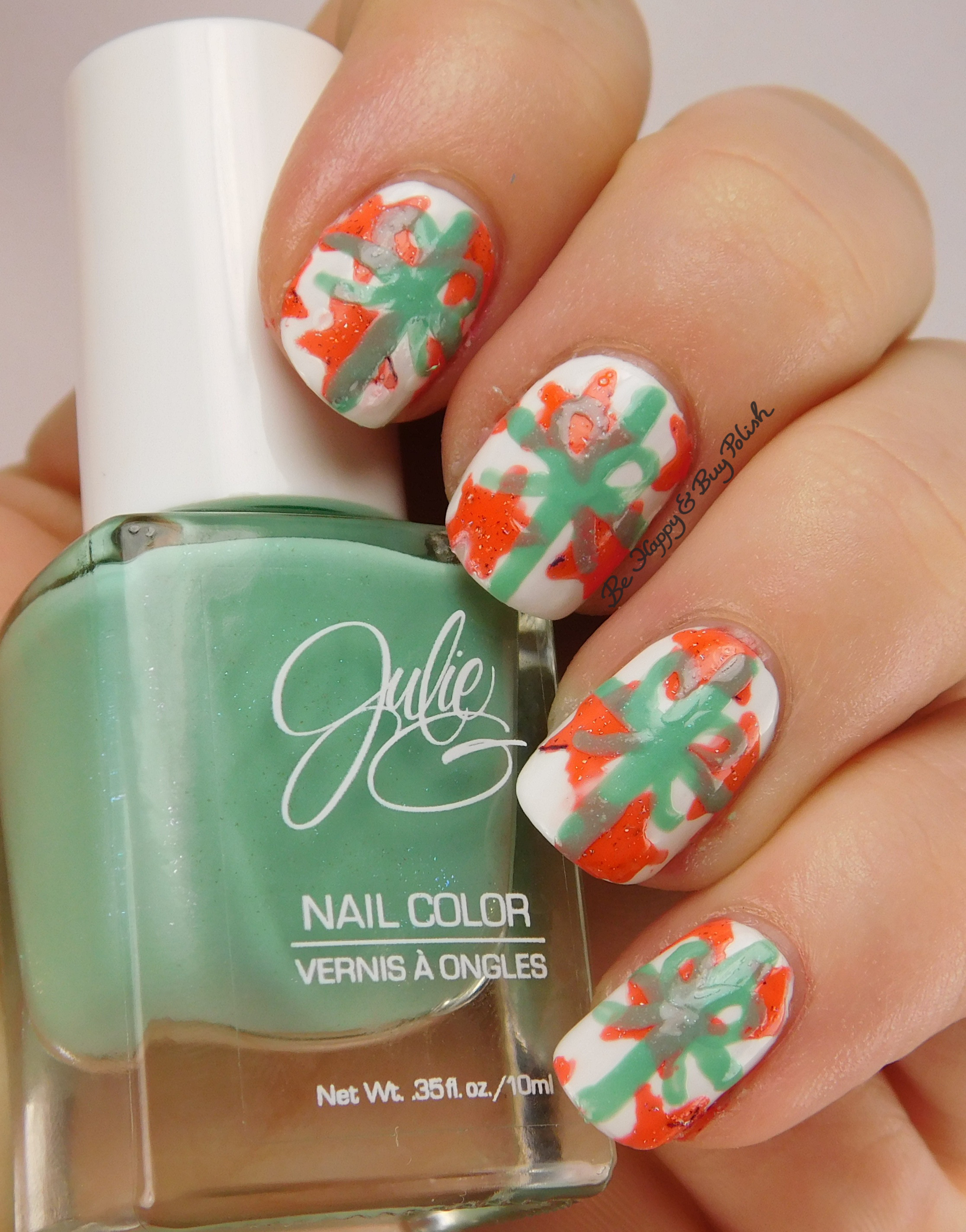 12 Days of Christmas Nail Art Challenge: Presents | Be Happy and Buy ...