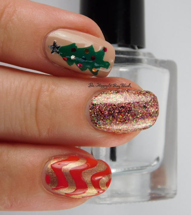 Christmas tree mani | Be Happy And Buy Polish