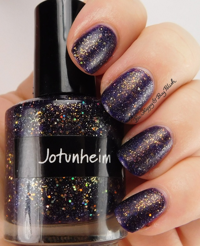 CrowsToes Jotunheim with matte top coat | Be Happy And Buy Polish
