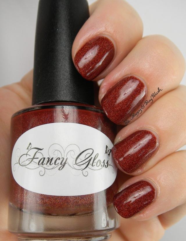 Fancy Gloss Red Velvet Mocha | Be Happy And Buy Polish