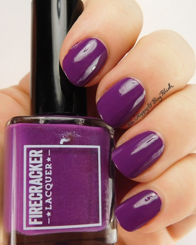 Firecracker Lacquer The Grape Beyond | Be Happy And Buy Polish