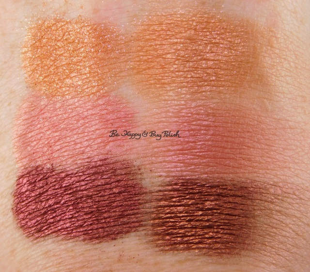 Glamour Doll Eyes Bat Queen, Sherbert, Lovers Lane swatches | Be Happy And Buy Polish