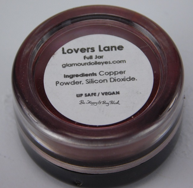Glamour Doll Eyes Lovers Lane ingredients label | Be Happy And Buy Polish