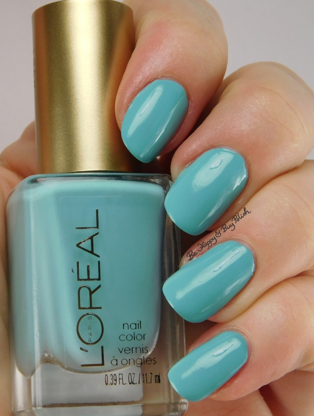 L'Oreal Blissful Blue, Bohemian Beauty nail polish | Be Happy And Buy Polish