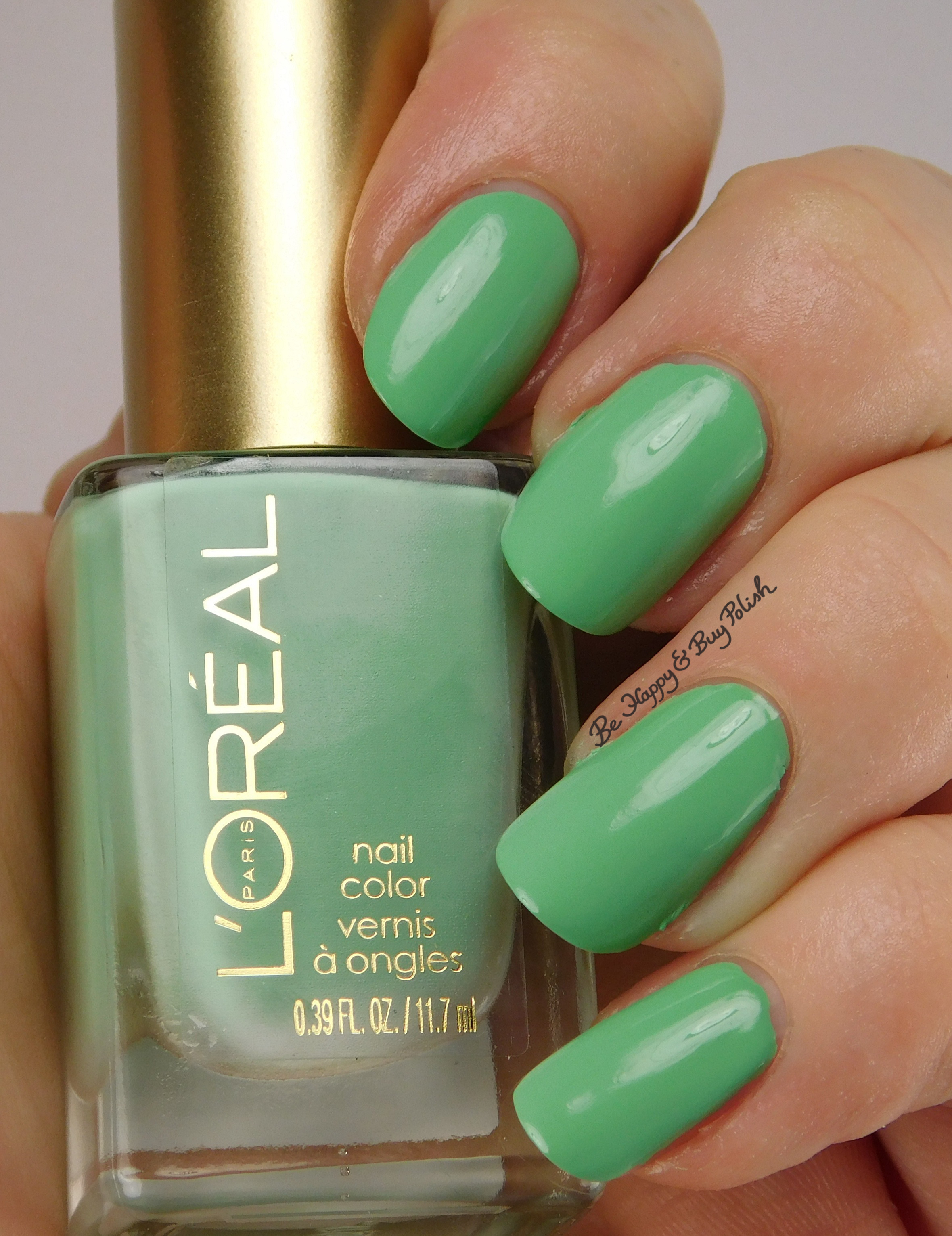 L'Oreal Bohemian Beauty nail polishes swatches + review | Be Happy ...