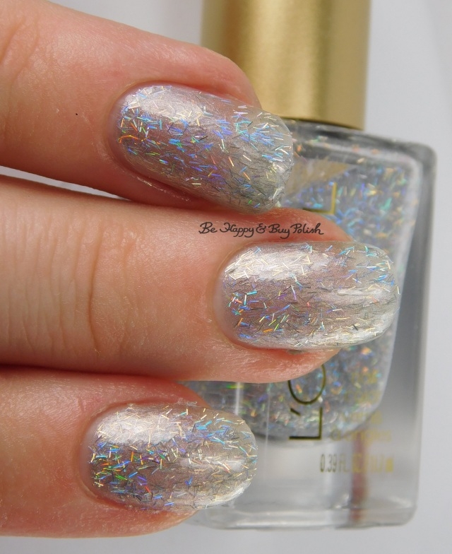 L'Oreal Gypsy Glitz 3-finger pose, Bohemian Beauty nail polish | Be Happy And Buy Polish