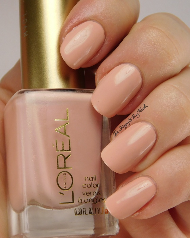 L'Oreal Peaceful Pink, Bohemian Beauty nail polish | Be Happy And Buy Polish