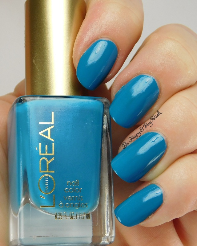 L'Oreal Totally Turquoise, Bohemian Beauty nail polish | Be Happy And Buy Polish