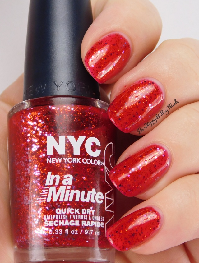 NYC New York Color Ruby Slippers | Be Happy And Buy Polish