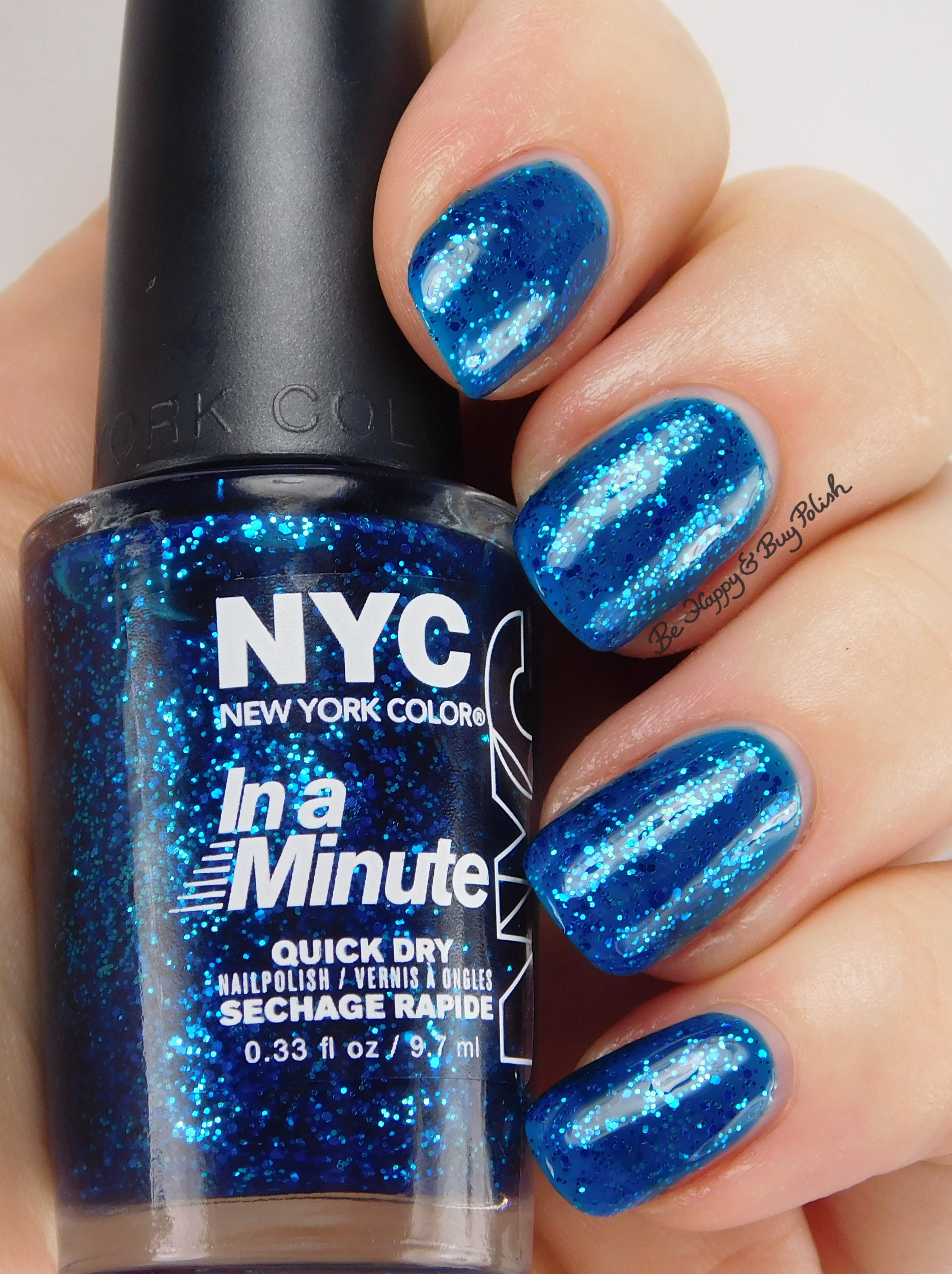 Holiday Glitz with NYC New York Color nail polish | Be Happy and Buy ...