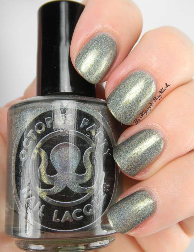 Octopus Party Nail Lacquer Baroque N Record | Be Happy And Buy Polish