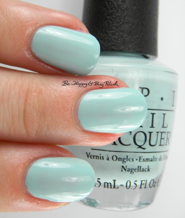 OPI Gelato on My Mind 3-finger pose | Be Happy And Buy Polish